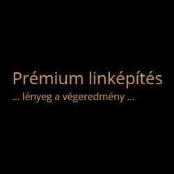 prémium linképítés