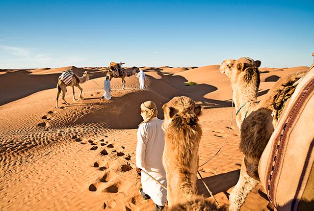 Tunézia sivatag